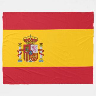 Flag of Spain - Bandera de Espana Fleece Blanket