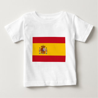 Flag of Spain - Bandera de España - Spanish Flag Baby T-Shirt