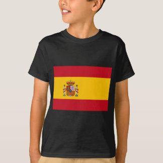 Flag of Spain - Bandera de España - Spanish Flag T-Shirt