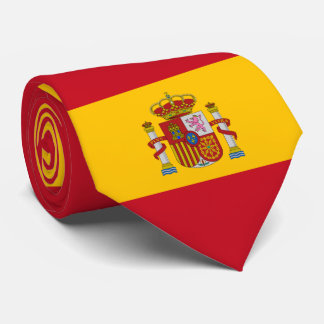 Flag of Spain - Bandera de Espana Tie