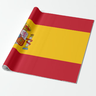 Flag of Spain - Bandera de Espana Wrapping Paper