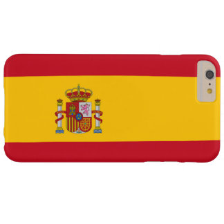 Flag of Spain Barely There iPhone 6 Plus Case