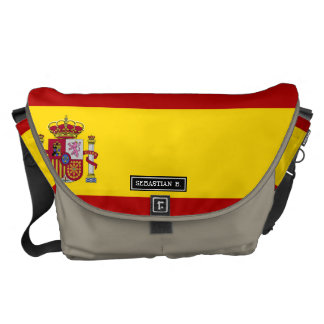 Flag of Spain Courier Bag