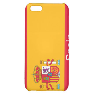 Flag of Spain Case For iPhone 5C