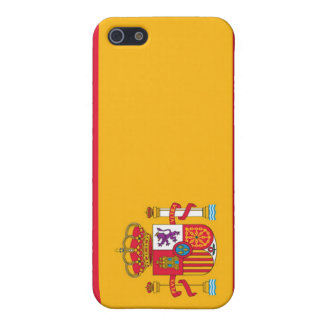 Flag of Spain Cases For iPhone 5