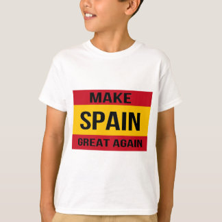 Flag of Spain - Make Spain Great Again T-Shirt