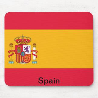 Flag of Spain Mousepads