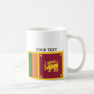 Flag of Sri Lanka Mugs