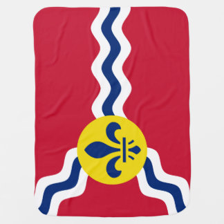 Flag of St. Louis, Missouri Baby Blanket