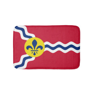 Flag of St. Louis, Missouri Bath Mat