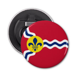 Flag of St. Louis, Missouri Bottle Opener