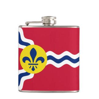 Flag of St. Louis, Missouri Hip Flask