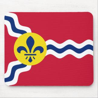 Flag of St. Louis, Missouri Mouse Pad