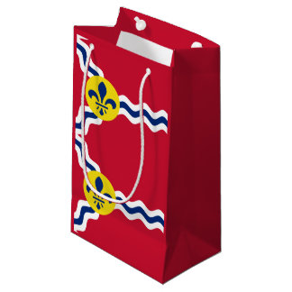 Flag of St. Louis, Missouri Small Gift Bag