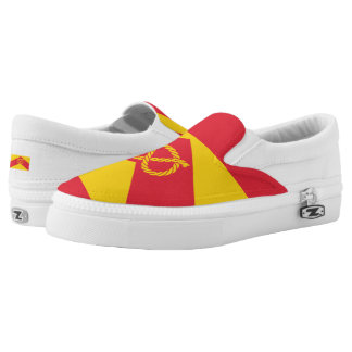 Flag of Staffordshire Slip On Shoes