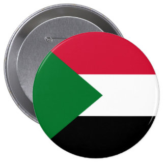 Flag of Sudan Pinback Button