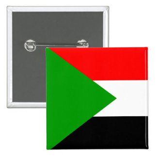 Flag of Sudan Pinback Buttons
