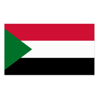 Flag of Sudan Business Cards