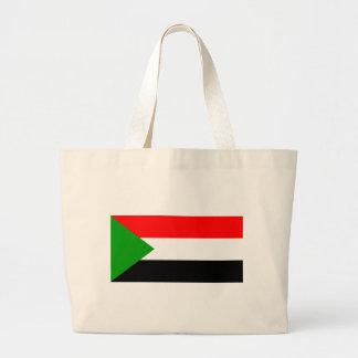 Flag of Sudan Jumbo Tote Bag