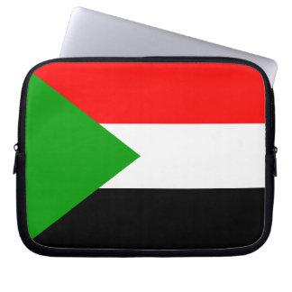 Flag of Sudan Laptop Sleeves
