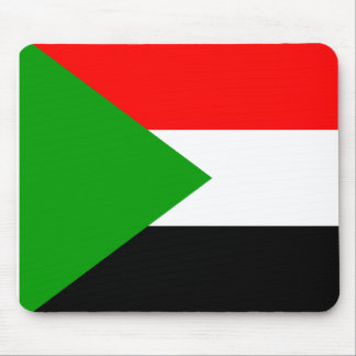 Flag of Sudan Mouse Pads