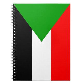 Flag of Sudan Spiral Notebooks