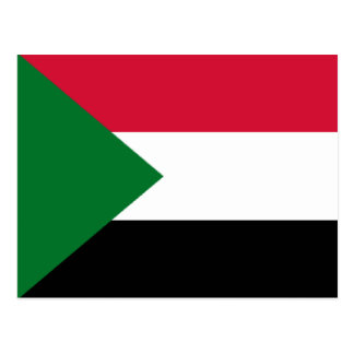 Flag of Sudan Postcard