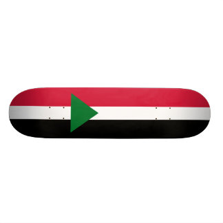 Flag of Sudan Skateboard Deck