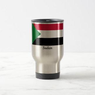 Flag of Sudan Stainless Steel Travel Mug