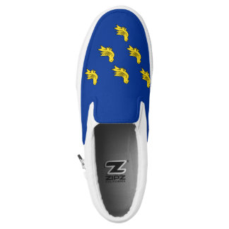 Flag of Sussex Slip-On Shoes