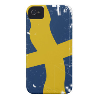 Flag OF Sweden Case-Mate iPhone 4 Cases