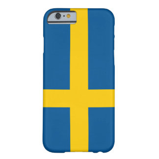 Flag of Sweden iPhone 6 case Barely There iPhone 6 Case