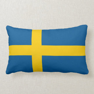 Flag of Sweden Pillow Throw Cushion