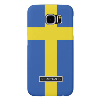 Flag of Sweden Samsung Galaxy S6 Cases