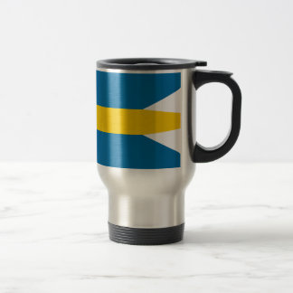 Flag of Sweden - Sveriges flagga - Swedish Flag Travel Mug