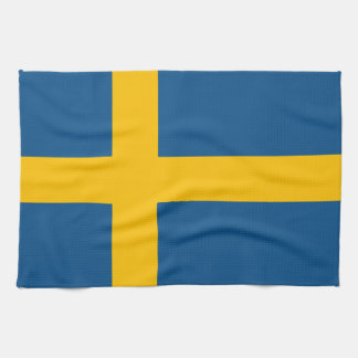 Flag of Sweden Tea Towel