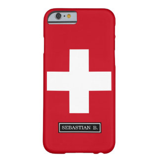 Flag of Switzerland Barely There iPhone 6 Case