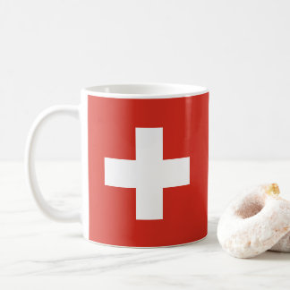 Flag of Switzerland Coffee Mug