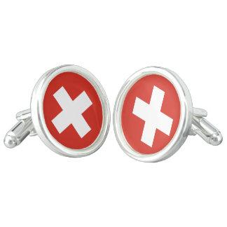 Flag of Switzerland Cufflinks