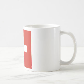 Flag of Switzerland - Die Nationalflagge der Schwe Coffee Mug