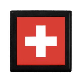 Flag of Switzerland - Die Nationalflagge der Schwe Gift Box