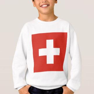Flag of Switzerland - Die Nationalflagge der Schwe Sweatshirt