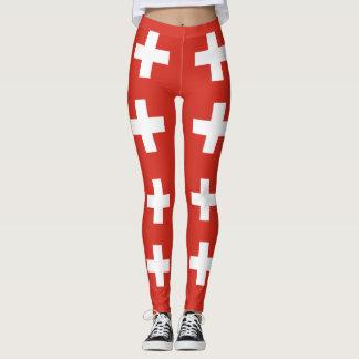Flag of Switzerland Leggings