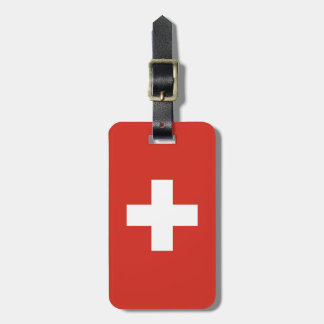 Flag of Switzerland Luggage Tag