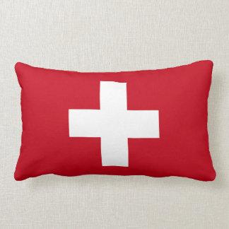 Flag of Switzerland Lumbar Cushion