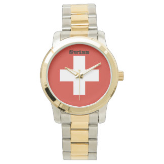 Flag of Switzerland Watch