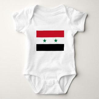 Flag_of_Syria. Baby Bodysuit