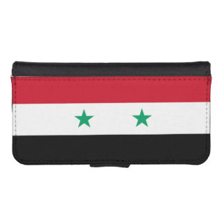Flag of Syria iPhone SE/5/5s Wallet Case