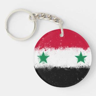 Flag of Syria Key Ring