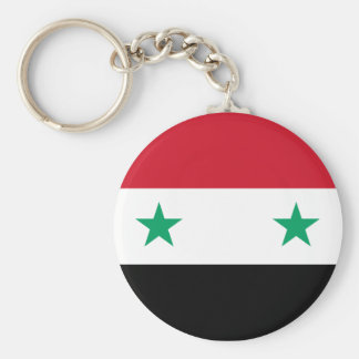 Flag of Syria Key Ring